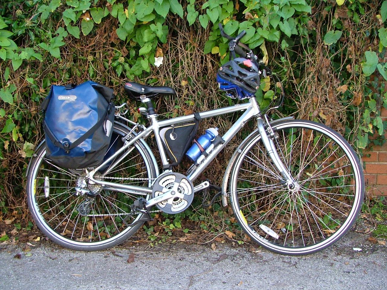 boot and bike