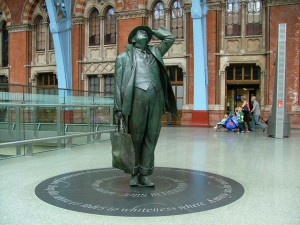 St Pancras: gateway to another European tain journey