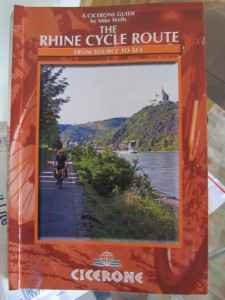 Cicerone's new guide: The Rhine Cycle Route