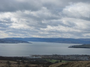 Overlooking Helensburgh and the Firth of Clyde