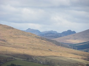 Over the hill to Helensburgh