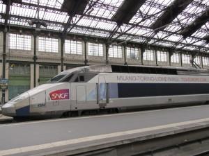 Milan-Turin-Paris TGV