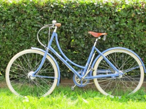My shiny, new Pashley Poppy, just out of the box