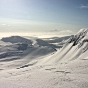 Alpine conditions in the Highlands
