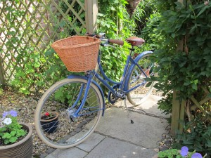 The Pashley in its spiritual home: the English country garden