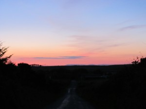 North Rhinns sunset