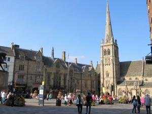 Durham's historic marketplace