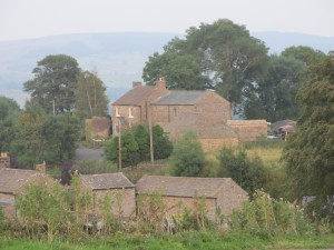 Highside Farm in idyllic Upper Teesdale