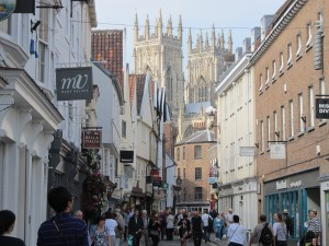 The iconic Minster looks down on the city's medieval streets
