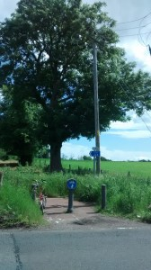 NCN 75 near Uddingston