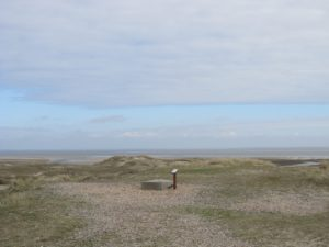 Sand dunes along Jutland's wild, west coast