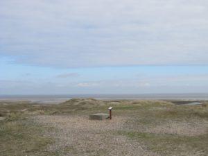 Sand dunes along Jutland's wild, west coast