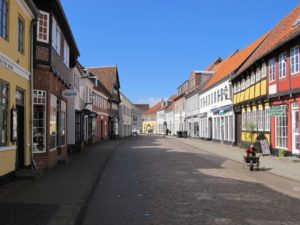 Downtown Ribe: a honeypot of cobbled streets and half-timbered houses