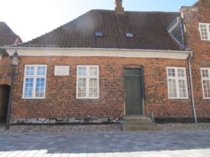 Birthplace of Jacob Riis in RIbe