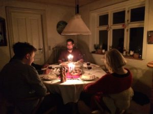 Christmas Eve dinner, Danish style