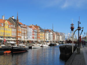 The colourful waterfront of Nyhavn