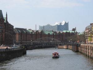 The Speicherstadt, Hamburg