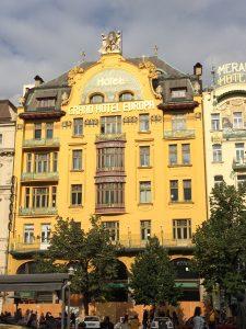 The Grand Evropa hotel