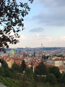 Prague: 'city of 100 spires' and one TV tower