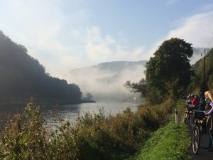 The mist rises on the Labe