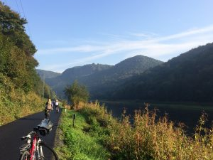 Cycling paradise: kilometres of flat, smooth, traffic-free paths. What not to like?