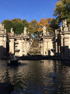 The restored Baroque splendour of the Zwinger