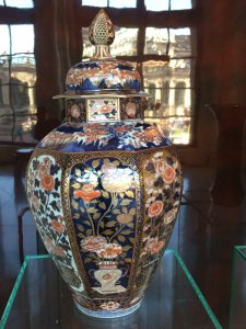 An oriental vase: part of the wonderful porcelain collection