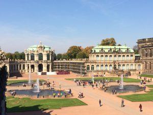 The Baroque splendour of the Zwinger, Dresden