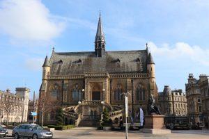 The imposing and impressive McManus Galleries